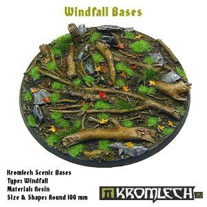 Kromlech   Windfall Bases Windfall round 100mm (1) - KRRB036 -