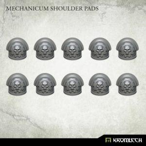Kromlech   Legionary Conversion Parts Mechanicum Shoulder Pads (10) - KRCB249 - 5908291070359