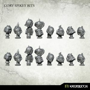 Kromlech   Misc / Weapons Conversion Parts Gory Spikey Bits (16) - KRVB056 - 5902216117372