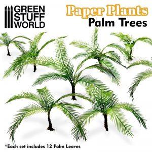 Green Stuff World   Plants & Flowers Paper Plants - Jungle Palm - 8436574508727ES - 8436574508727