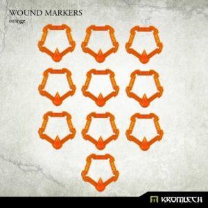 Kromlech   Tapes & Measuring Sticks Wound Markers [orange] (10) - KRGA003 - 5902216112346
