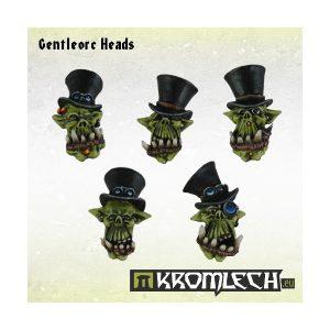 Kromlech   Orc Conversion Parts Gentleorc Heads (10) - KRCB141 - 5902216113008