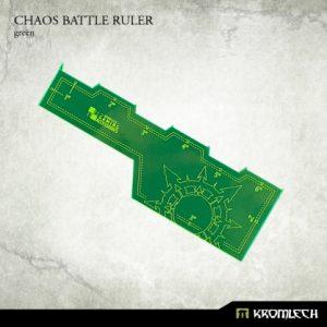Kromlech   Tapes & Measuring Sticks Chaos Battle Ruler [green] (1) - KRGA005 - 5902216114005