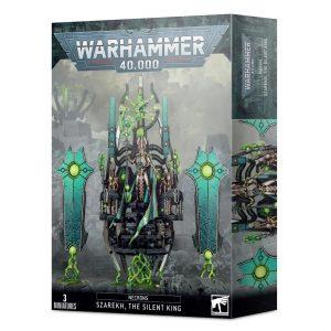 Games Workshop Warhammer 40,000  Necrons Necron Szarekh, The Silent King - 99120110047 - 5011921135189