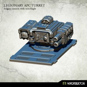 Kromlech   Vehicles & Vehicle Parts Legionary APC turret: Magma Cannon with Searchlight (1) - KRVB029 - 5902216114777