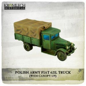 Kromlech   Kromlech Historical Polish Army FIAT 621L truck - KHWW2018 - 5902216118140