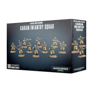 Games Workshop Warhammer 40,000  Astra Militarum Astra Militarum Cadian Infantry Squad - 99120105080 - 5011921113804