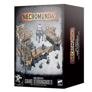 Games Workshop Necromunda  Necromunda Necromunda: Zone Mortalis Gang Stronghold - 99120599030 - 5011921141616