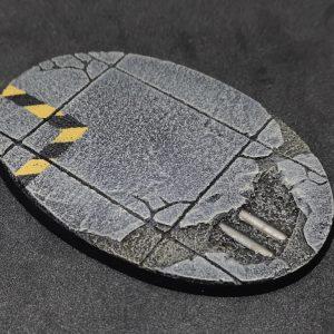 Baker Bases   Concrete Concrete: 105x70mm Round Bases (1) - CB-CN-01-105 - CB-CN-01-105