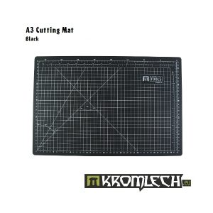 Kromlech   Cutting Mats Cutting Mat A3 Black - KRMA019BLA - 5902216112322