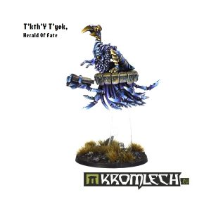 Kromlech   Heretic Legionary Model Kits T'kth'Y T'Yok, Herald Of Fate - KRM045 - 5902216111684