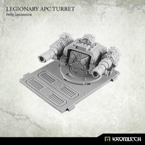 Kromlech   Legionary Conversion Parts Legionary APC turret: Twin Lascannon (1) - KRVB023 - 5902216113749