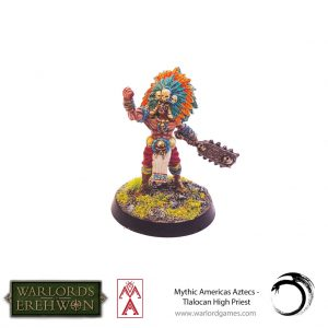 Warlord Games Warlord of Erehwon  Warlords of Erehwon Warlord of Erehwon: Tlalocan High Priest - 723011002 -