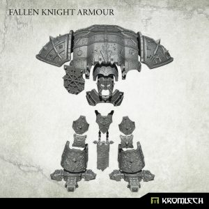 Kromlech   Heretic Legionary Conversion Parts Fallen Knight Armour - KRVB081 - 5902216119185