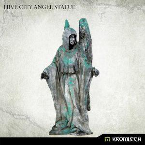 Kromlech   Kromlech Terrain Hive City Angel Statue (1) - KRBK033 - 5902216117884