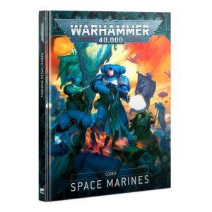Games Workshop Warhammer 40,000  Codex Codex: Space Marines - 60030101049 - 9781839060694