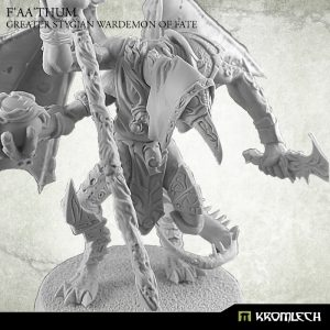 Kromlech   Heretic Legionary Model Kits F'aa'thum, Greater Stygian Wardemon of Fate (1) - KRM117 - 5902216114746