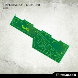 Kromlech   Tapes & Measuring Sticks Imperial Battle Ruler [green] (1) - KRGA007 - 5902216114029