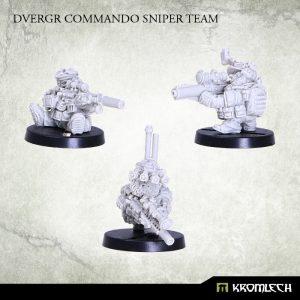 Kromlech   Dvergr Model Kits Dvergr Commando Sniper Team (3) - KRM098 - 5902216113855