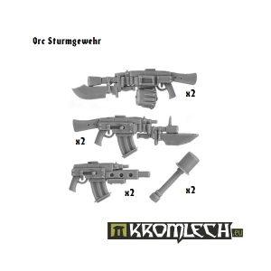 Kromlech   Orc Conversion Parts Orc Sturmgewehr (6+2 granades) - KRCB038 - 5902216110366