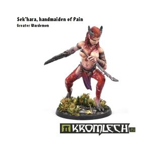 Kromlech   Demons Model Kits Sek'hara, handmaiden of Pain (1) - KRM006 - 5902216111318
