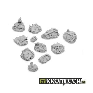 Kromlech   Basing Kits Urban Rubble Basing Kit (11) - KRBK002 - 5902216111844