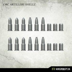 Kromlech   Orc Conversion Parts Orc Artillery Shellz (18) - KRBK025 - 5902216117723