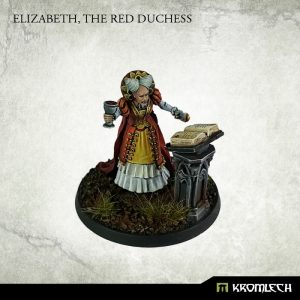 Kromlech   Misc Model Kits Elizabeth, The Red Duchess (1) - KRM108 - 5902216114258