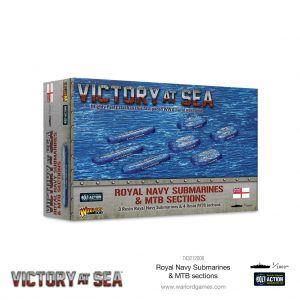 Warlord Games Victory at Sea  Victory at Sea Victory at Sea: Royal Navy Submarines & MTB sections - 743212006 - 5060572506800