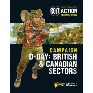 Warlord Games Bolt Action  Great Britain (BA) D-Day: British & Canadian Sectors - 409910062 -
