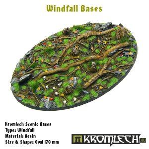 Kromlech   Windfall Bases Windfall oval 170x110mm (1) - KRRB034 -