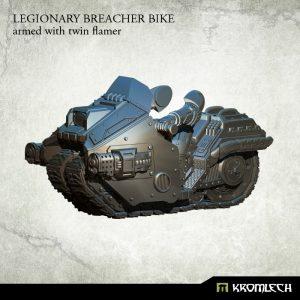 Kromlech   Legionary Model Kits Legionary Breacher Bike (1) twin flamer - KRM103 - 5902216113909