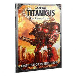 Games Workshop Adeptus Titanicus  Adeptus Titanicus Adeptus Titanicus: Crucible Of Retribution - 60040399012 - 9781788269636