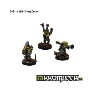 Kromlech   Orc Model Kits Goblin Artillery Crew (3) - KRM018 - 5902216111431