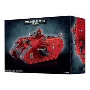 Games Workshop (Direct) Warhammer 40,000  Chaos Space Marines Chaos Space Marine Land Raider - 99120102052 - 5011921049752