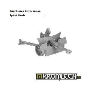 Kromlech   Imperial Guard Model Kits Guardsmen Autocannon - KRM040 - 5902216111639