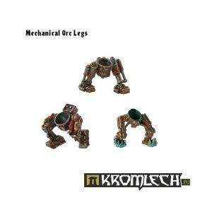 Kromlech   Orc Conversion Parts Mechanical Orc Legs (6) - KRCB003 - 5902216110021
