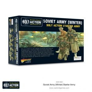 Warlord Games Bolt Action  Soviet Union (BA) Soviet Army Winter Starter army - 402614002 - 5060572508040