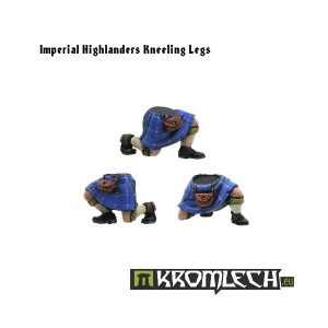 Kromlech   Imperial Guard Conversion Parts Highlanders Kneeling Legs (6) - KRCB053 - 5902216110519