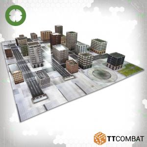 TTCombat   Dropzone Commander Terrain Dropzone Commander Cityscape - DZC-99004 - 639713388152