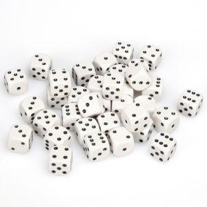 TTCombat   D6 Dice: White (12mm) - KDDO08 - 5060570131578