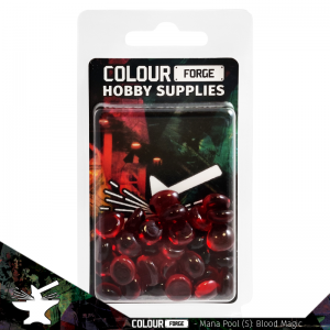 The Colour Forge   Glass Gems Mana Pool: Blood Magic (small) - TCF-MP-0133 - 5060843100133
