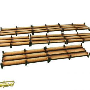 TTCombat   Eastern Empire (28-32mm) Wooden Walkways - EES010 - 5060504043069