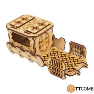 TTCombat   Industrial Hive (28-32mm) Sector 1 - Half Covered Walkway - TTSCW-INH-027 - 5060570133374