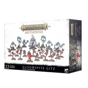 Games Workshop Age of Sigmar  Age of Sigmar Battleforces Battleforce Gloomspite Gitz Fungal Loonhorde - 99120209064 - 5011921132157