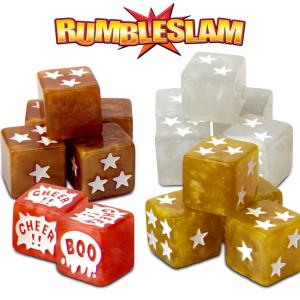 TTCombat Rumbleslam  Rumbleslam Rumbleslam Deluxe Dice - RSG-DICE-02 - 5060504048651