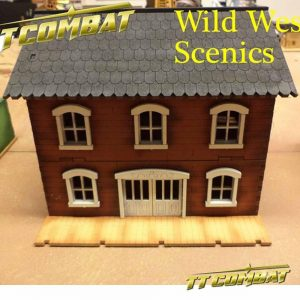 TTCombat   Wild West Scenics (28-32mm) Manor - WWS038 -