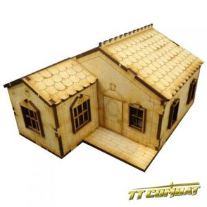 TTCombat   Old Town (28-32mm) Old Town Small House B - OTS004 -