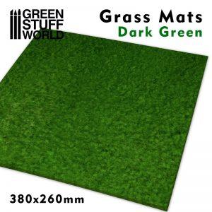 Green Stuff World   Grass Mats Grass Mats - Dark Green - 8436574508284ES - 8436574508284