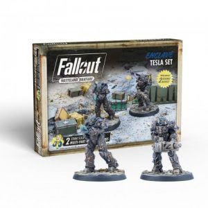 Modiphius Fallout: Wasteland Warfare  Fallout: Wasteland Warfare Fallout: Wasteland Warfare - Enclave: Tesla Set - MUH052034 -
